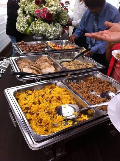 Cena buffetts internacional