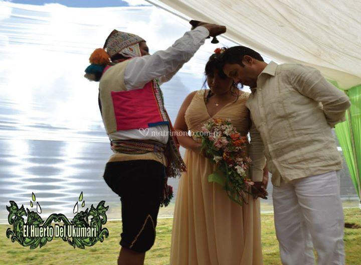 Ceremonia para matrimonios
