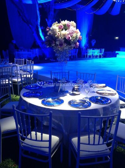La mesa de los invitados