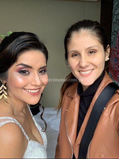 Maquillaje de novia para día