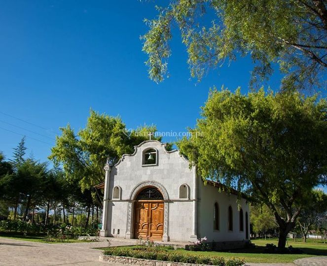Fachada de la capilla