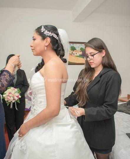 Asistencia de novia