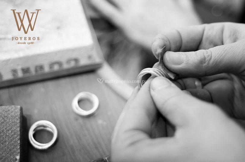 Hechas a mano por artesanos