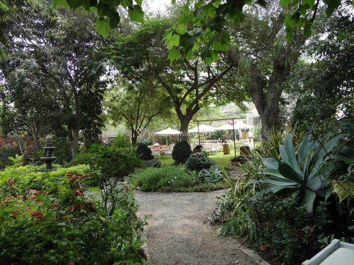 Frondoso jardin