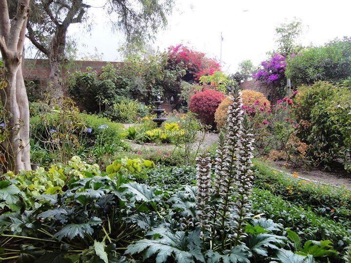 Exhuberante jardína