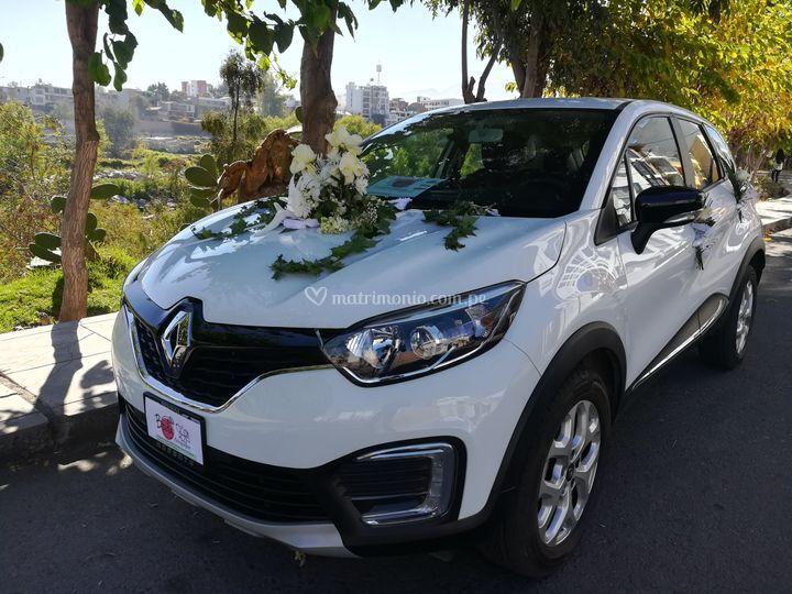 Auto para boda