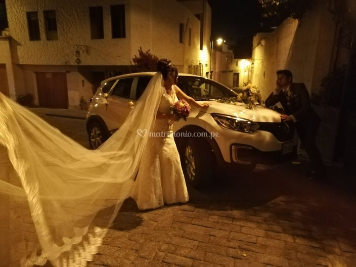 Auto para boda arequipa