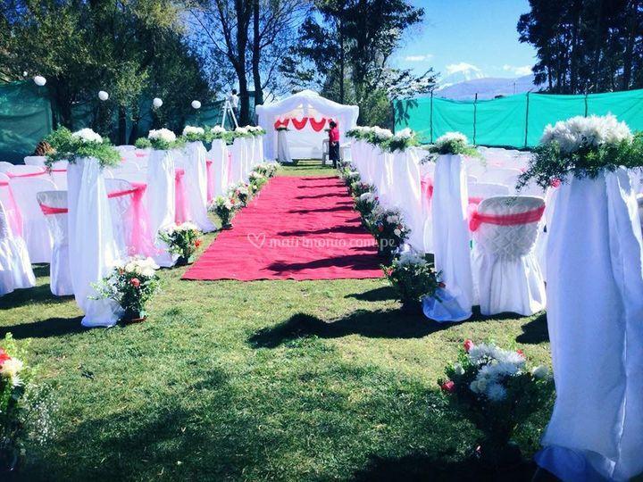 Áreas verde para matrimonios
