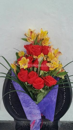 Variados tipos de flores
