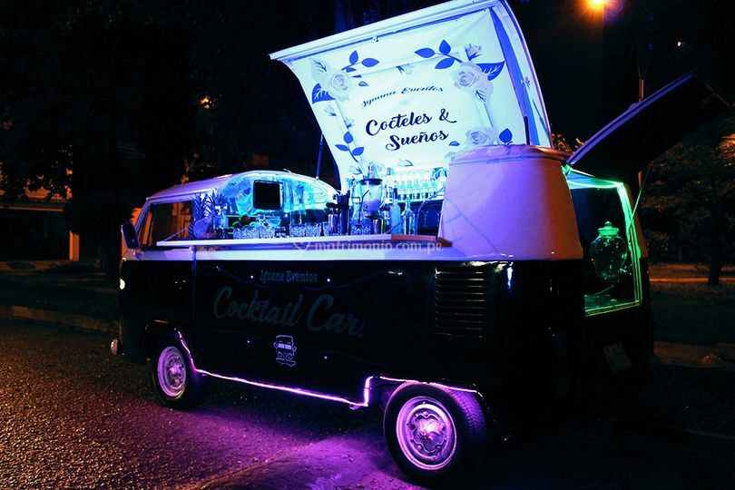 Combi bar o cocktail car