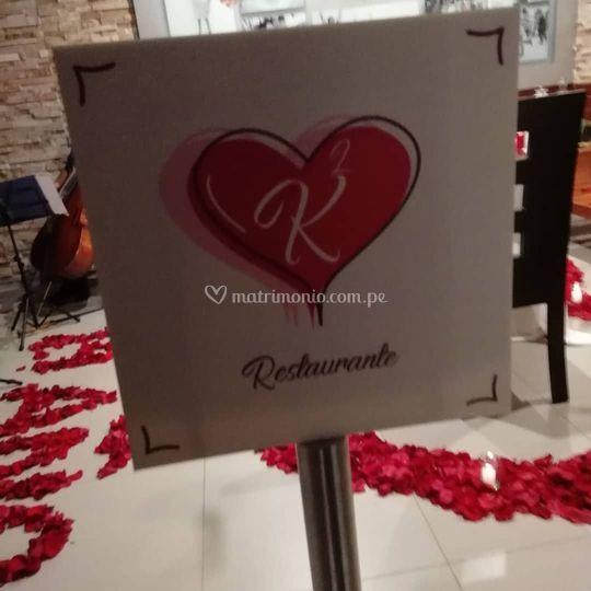 Recepción romántica