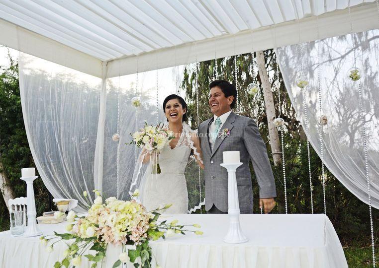 Unidos en matrimonio.