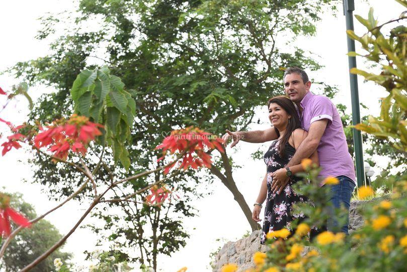 Pre-boda / Barranco