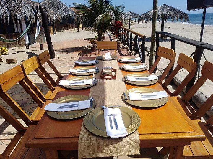 Mesas de playa