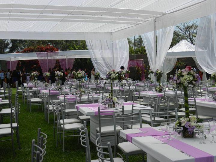 Matrimonio villa tallan