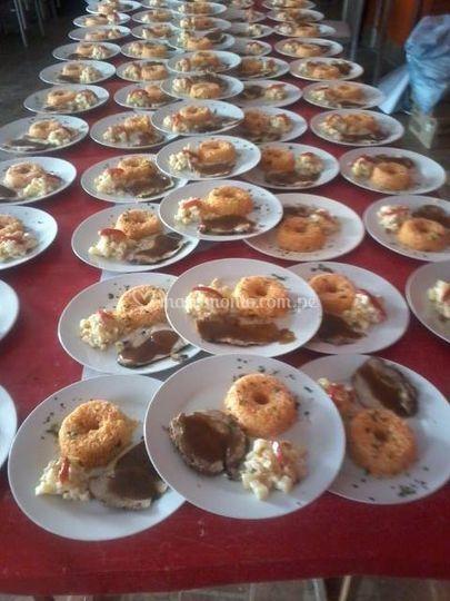 Comida de matrimonio
