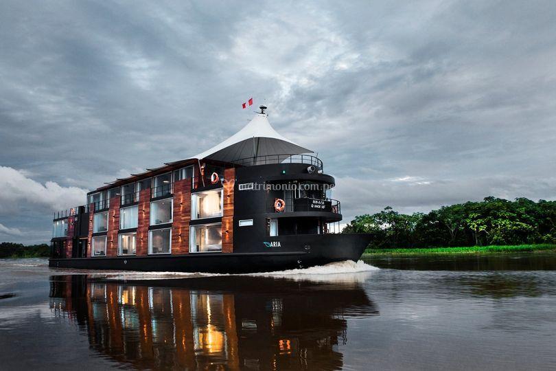 Crucero en el Amazonas