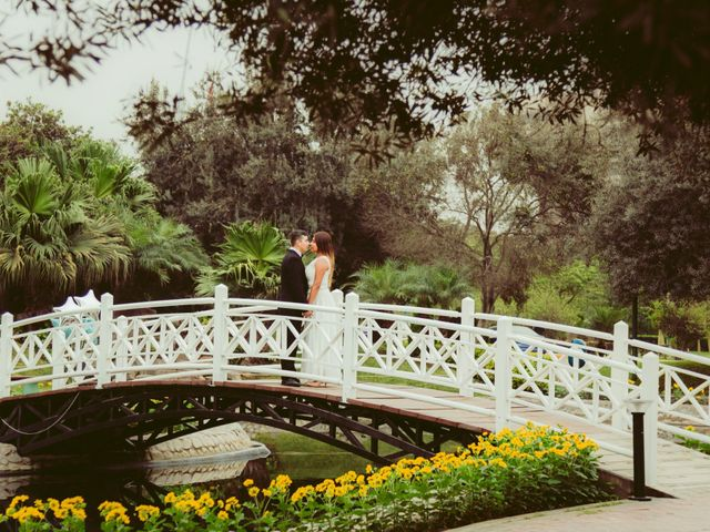 El matrimonio de Diego y Claudia