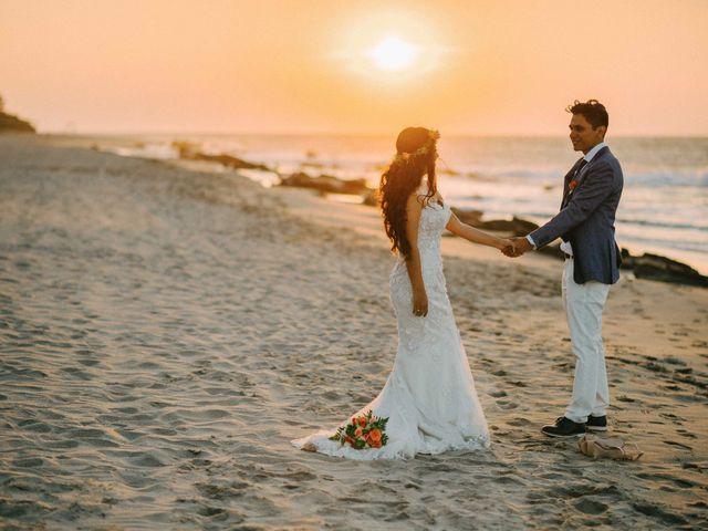 El matrimonio de Lya y Walter