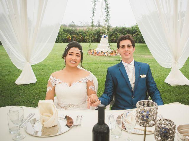 El matrimonio de Carolina y Vinícius