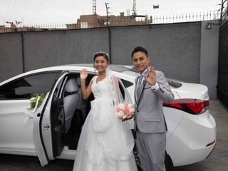 El matrimonio de Cesar   y Mayumi  2