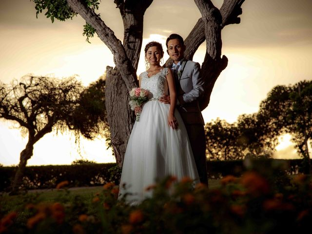 El matrimonio de Cesar   y Mayumi