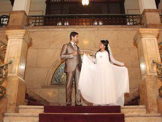 El matrimonio de Claudia y Youssef