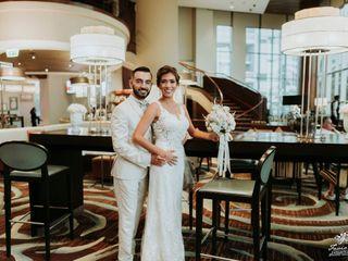 El matrimonio de Adriana y Andre
