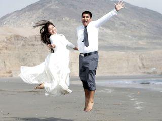 El matrimonio de Karin y Ruben