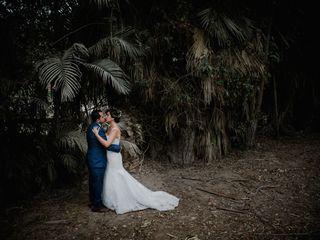 El matrimonio de Denisse y Enrique