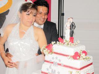 El matrimonio de Maria Elena y Marío Eloy