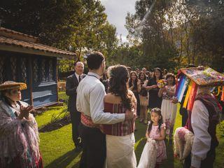 El matrimonio de Luz y Seth