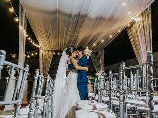 El matrimonio de Sara y Luis