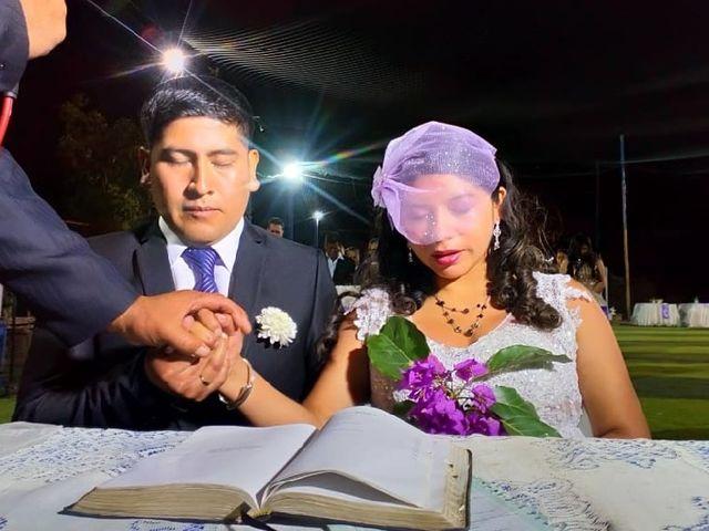 El matrimonio de Flor María  y Javier