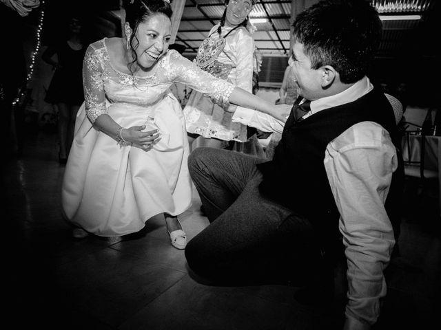 El matrimonio de Maryshely y Enrique