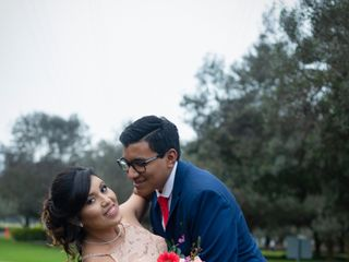 El matrimonio de Amanda y Mauricio