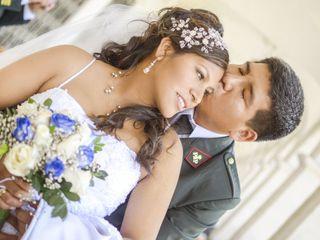 El matrimonio de Grecy y Giancarlo