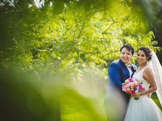 El matrimonio de Claudia y Alonso