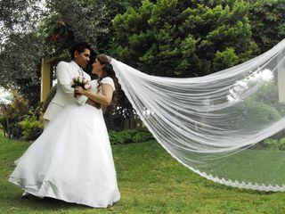 El matrimonio de Solange y Tonny