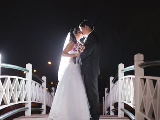 El matrimonio de Melani y Gian Franco