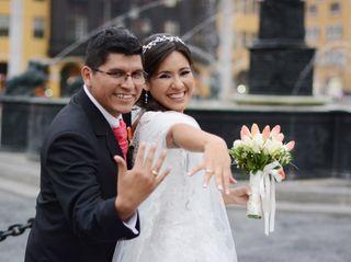 El matrimonio de Katherinne y Rene