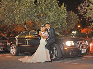 El matrimonio de Zindy y Javier