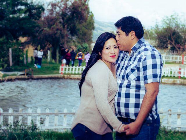 El matrimonio de Saly y Luis