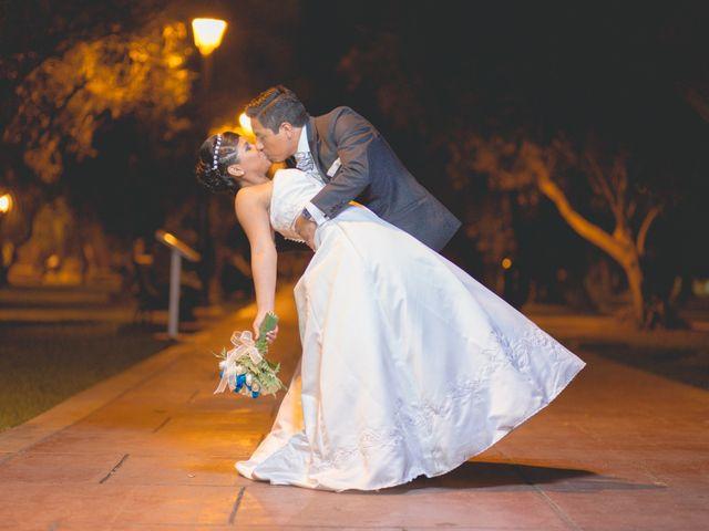 El matrimonio de Lourdes y Roni