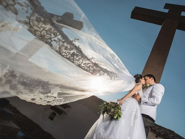 El matrimonio de Enzo y Karina en Andahuaylillas, Cusco 14