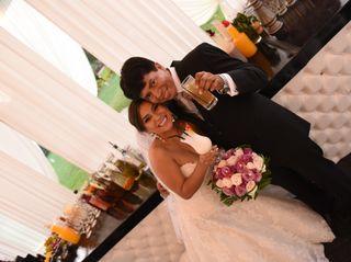 El matrimonio de Mónica y Mario