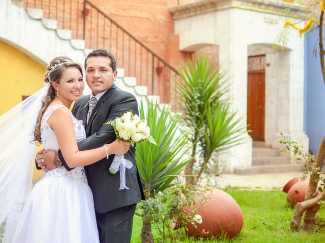 El matrimonio de Paola y Manuel