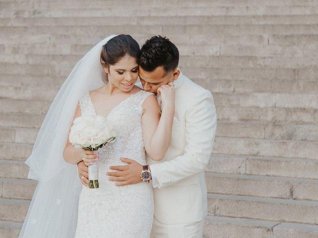 El matrimonio de Khiara y Néstor