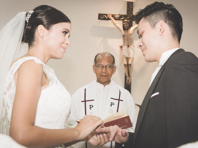 El matrimonio de Stephanie y Daivid