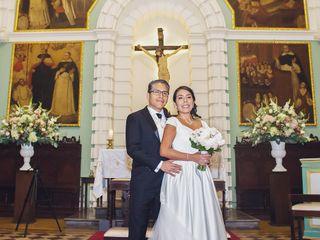 El matrimonio de Verónica y Daniel